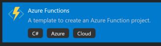01 create Azure Function